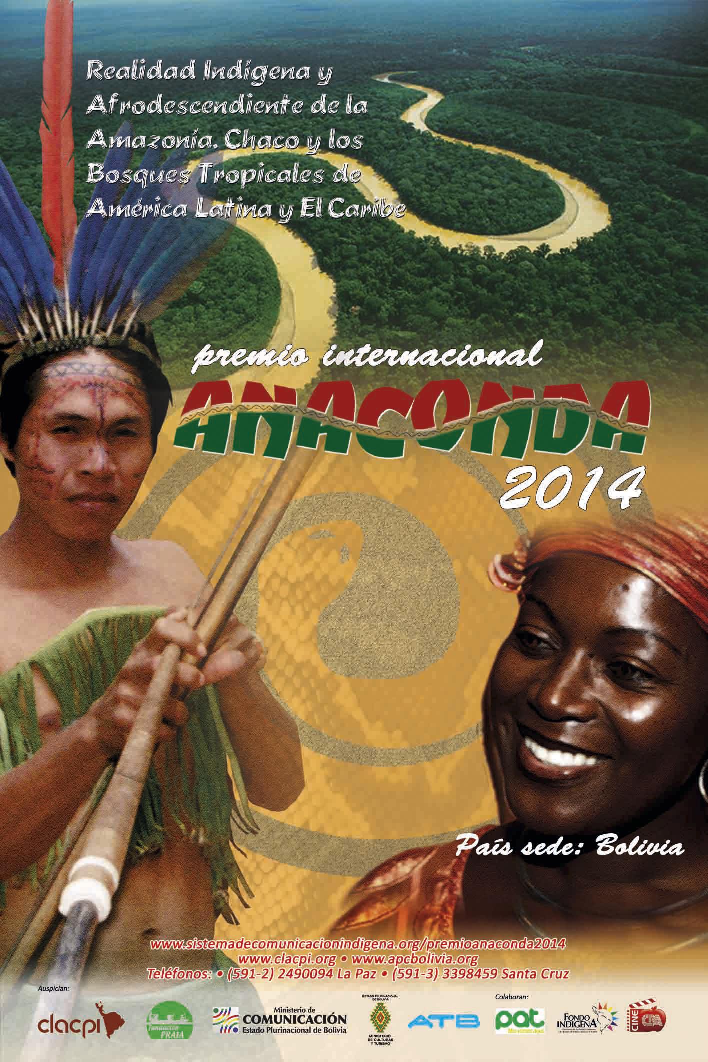 afiche anaconda 2014