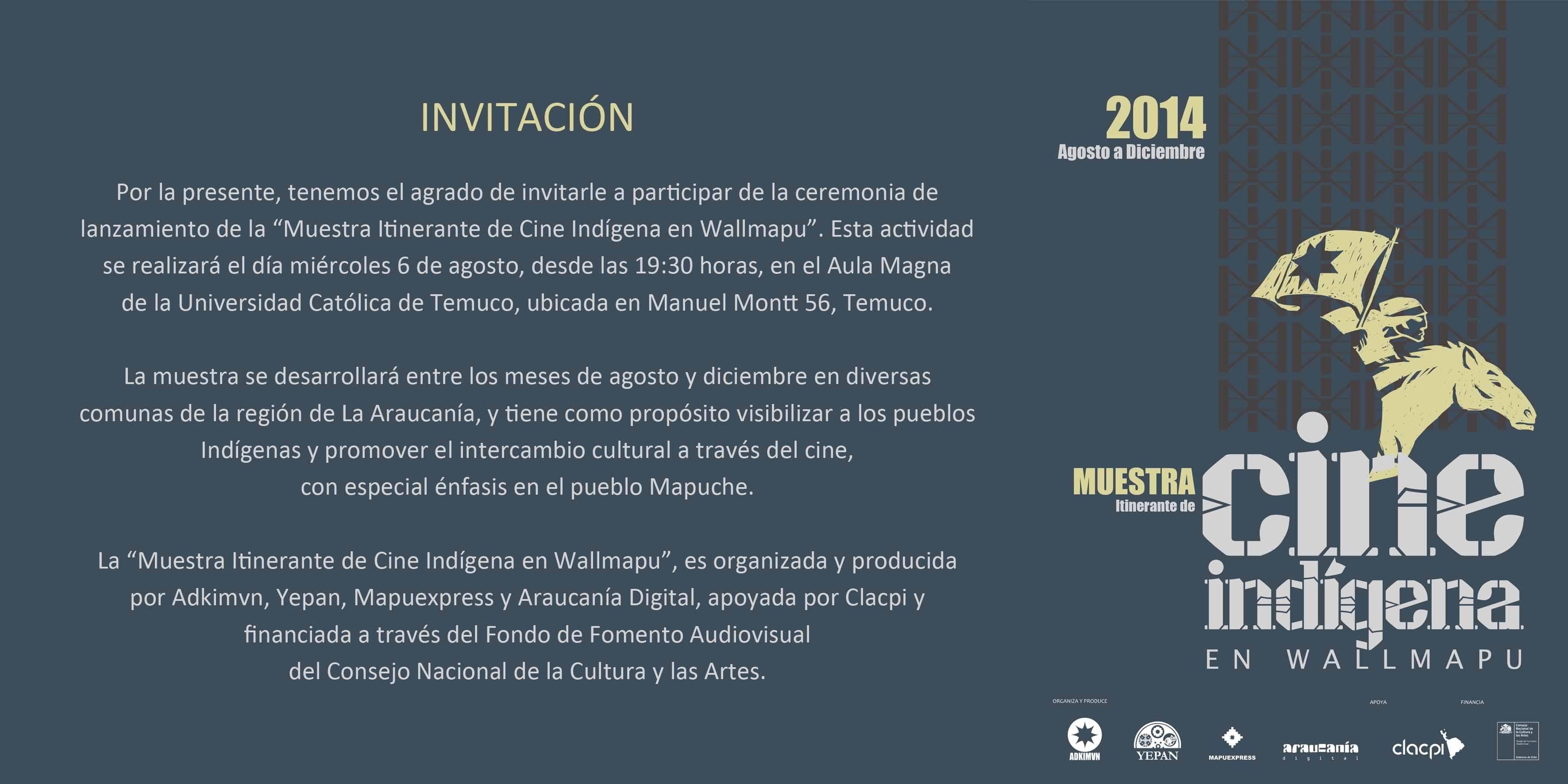 invitación muestra cine