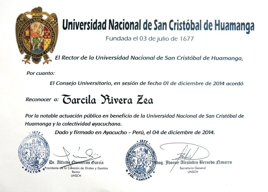 diploma UNSCH