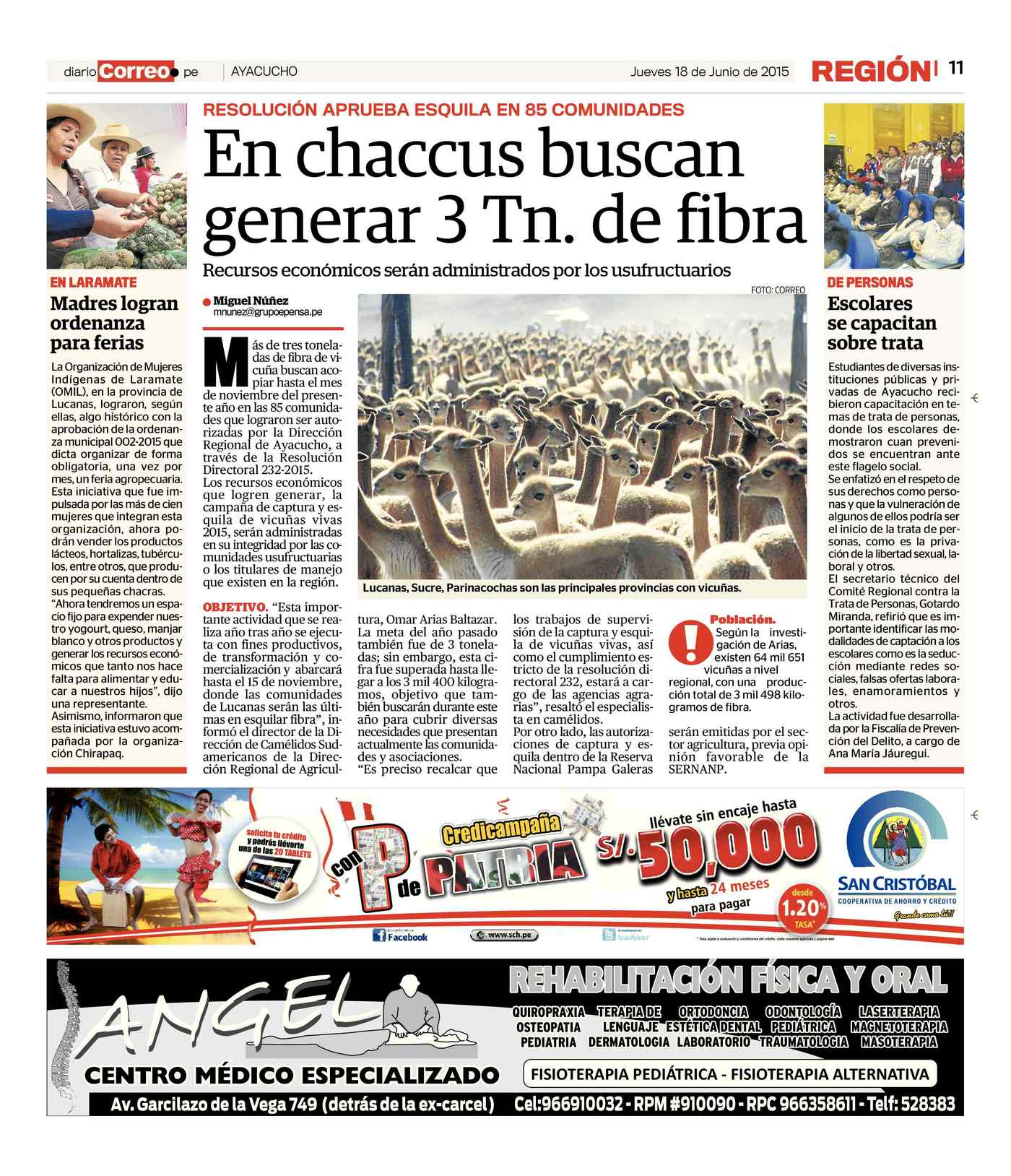Diario Correo (18-06-15)