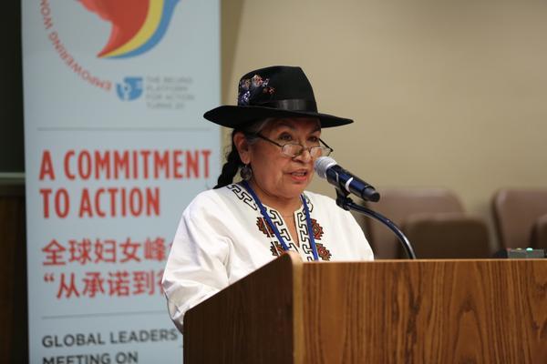 Censo 2017: Tarcila Rivera disertará sobre identidad indígena