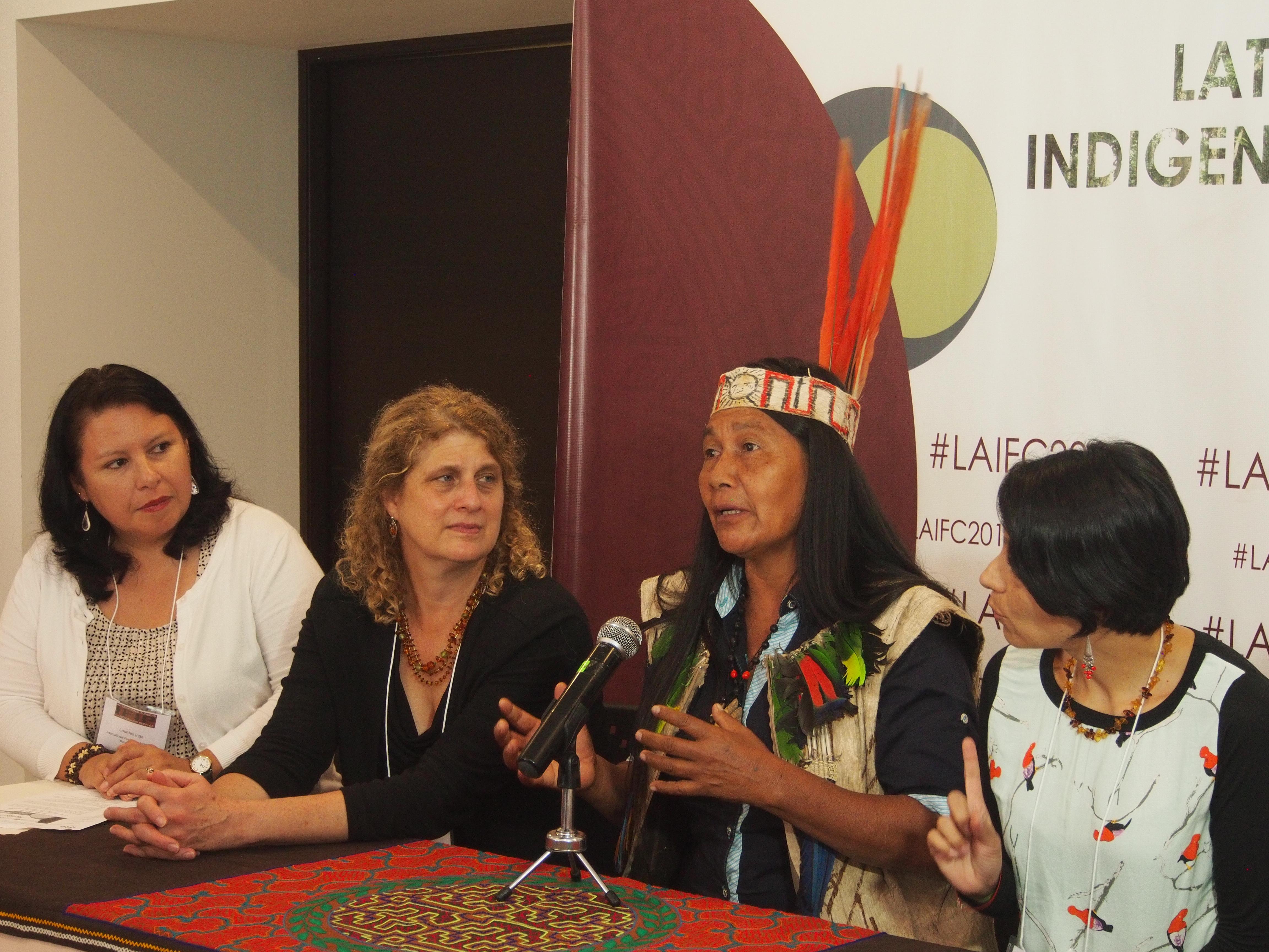 Indígenas de América Latina denuncian persecución judicial y advierten sobre riesgos para el medioambiente